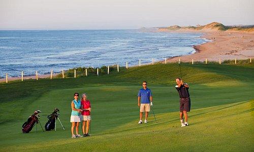 Golf at the Links at Crowbush Cover