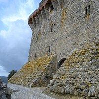 Entrada al Palacio de los Condes de Ourém