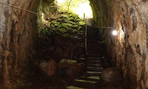 Túneles de lava.