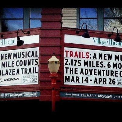 Village Theatre Marque