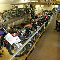 London Motorcycle Museum main hall
