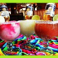Fresh Margaritas and Mexican Bulldogs