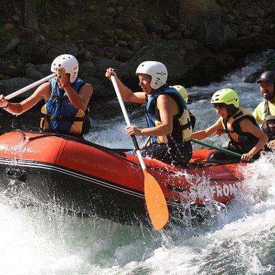 Rafting en el Pirineo Aragones