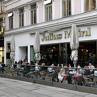 Julius Meinl Entrance on Graben Street