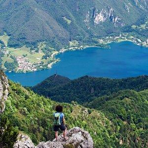 Panorama sul Lago di Ledro