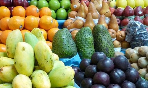 A Great Selection of Fruits andVegetables