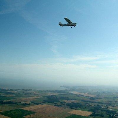 Airplane Ride in Gimli