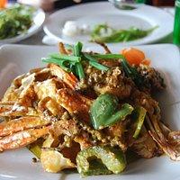 Kampot pepper and crab