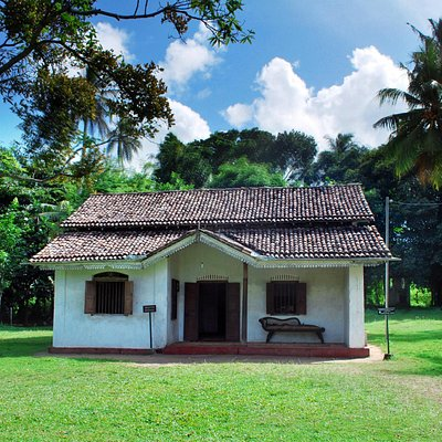 The house in which Martin Wickramasinghe was born