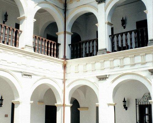 Patio del Museo Arquidiocesano de Arte Religioso