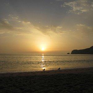NAZARE sun set綺麗な夕陽