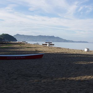 Sugar Beach at northern end