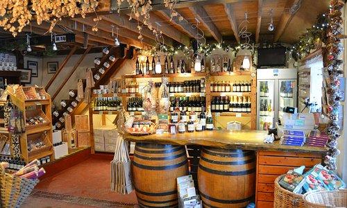 Inside Cellar Shop