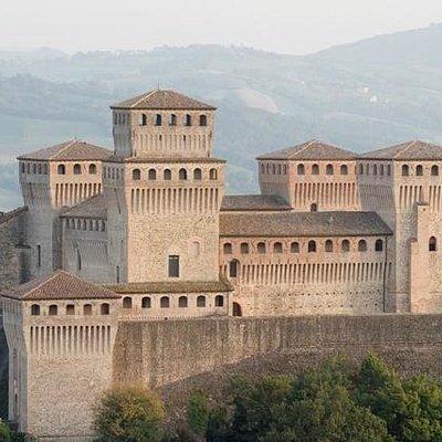 Vista del Castello di Torrechiara (copyright M. Davoli)