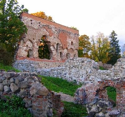 Ruins of the Viljandi's Order Castle