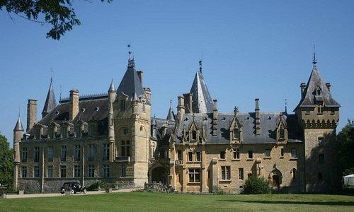 château de Prye, arrivée