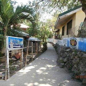 Pathway towards Lagoon