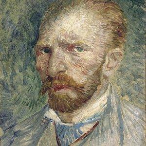 Self-portrait 1887. Vincent van Gogh.