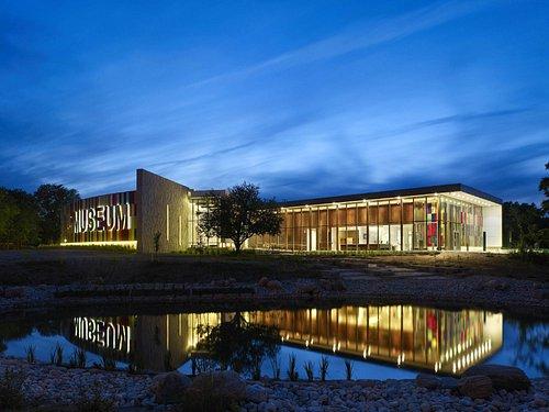 Waterloo Region Museum at night