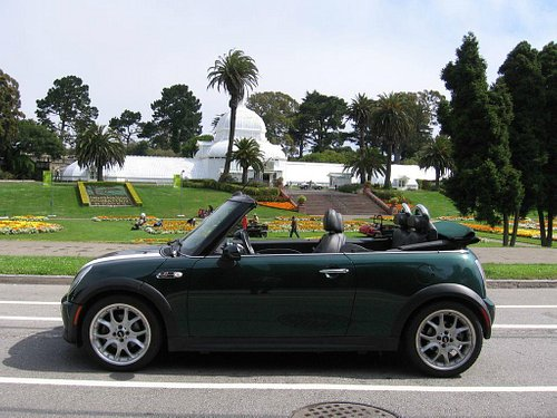 See the city in a convertible MINI Cooper