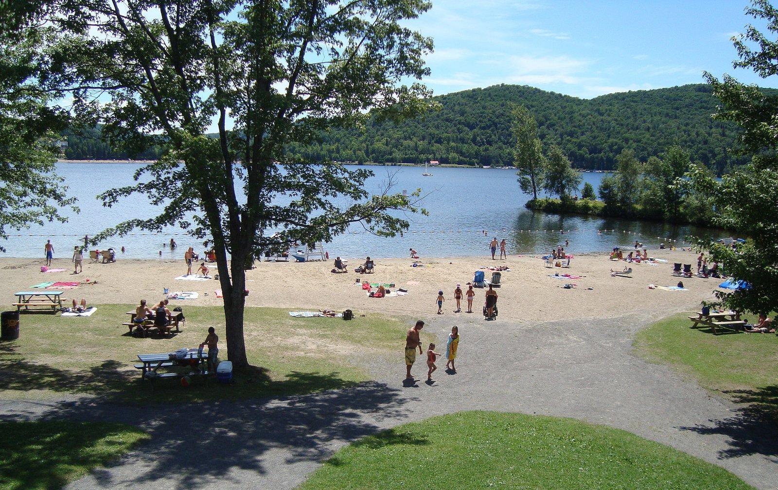 Plage Tessier, Lac des Sables Sainte-Agathe-des-Monts