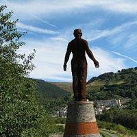 Overlooking the Six Bells disaster site