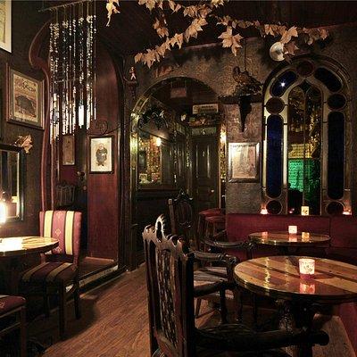 Bar A Paródia, sala da entrada
