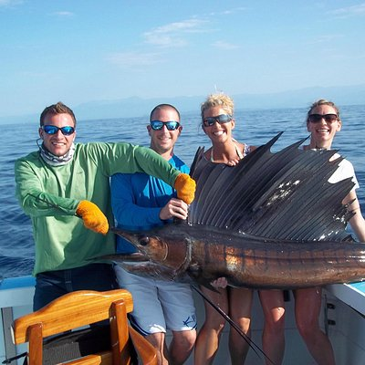 A fun day catching sailfish with Big Eye Charters