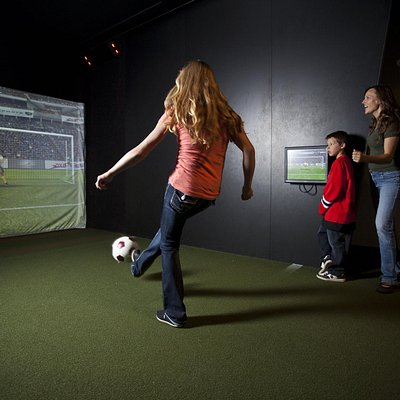 Play soccer, hockey and more in our Bounce Gallery