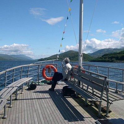 Cruising on Loch Linnhe