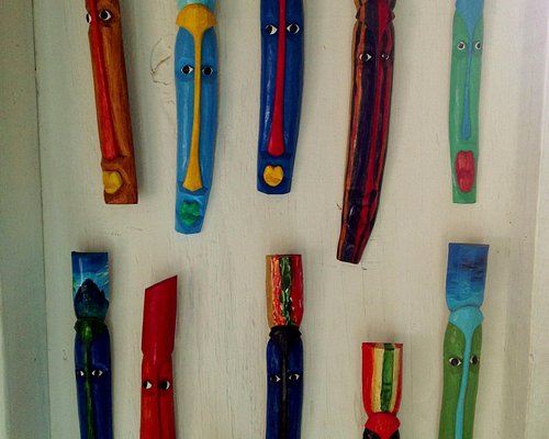 masks in a wide assortment of colours