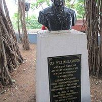 Col.William Lambton on St.Thomas mount