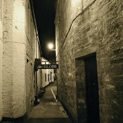 A deceptively inauspicious alleyway leads to a good little pub with a huge history.