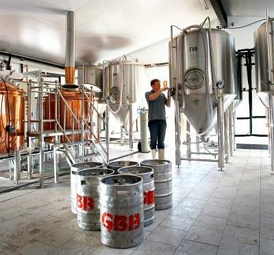Working micro brewery