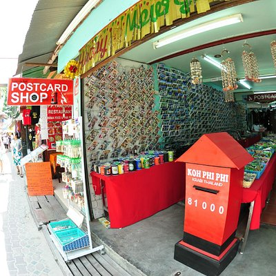 Phi Phi Postcard Shop