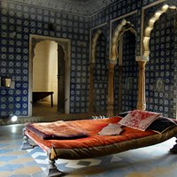 Bed room in Maharaja Palace
