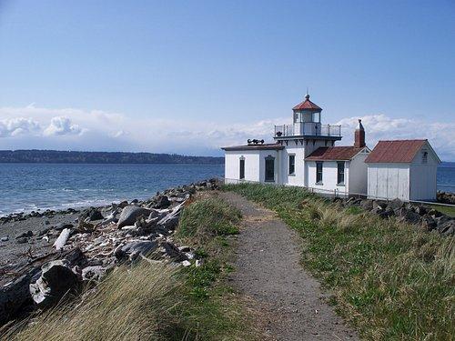 Lighthouse on Puget Sound