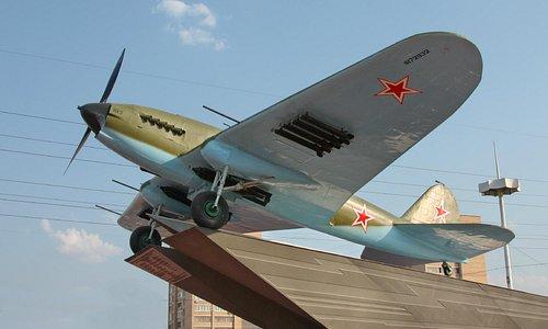 Il-2 airplane
