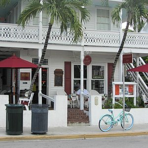 The Rum bar with its relaxing front porch!