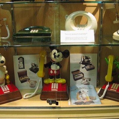 Designer phones at the museum