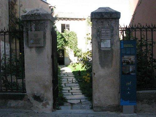 Entrada de la Casa Museo de Antonio Machado