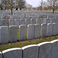 Headstones as far as the eye can see