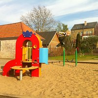 One of the playgrounds