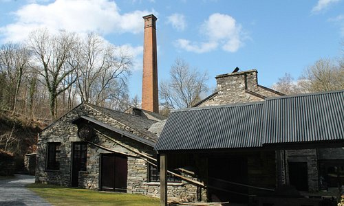 Bobbin Mill from the front of the museum