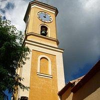 黄色の鐘楼