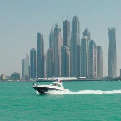 heading into the Dubai Marina