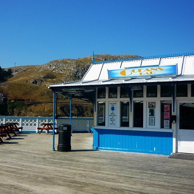 Oceans Bar on Llandudno Pier