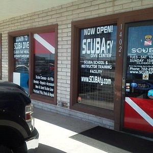 SCUBAfy on Nevada Way