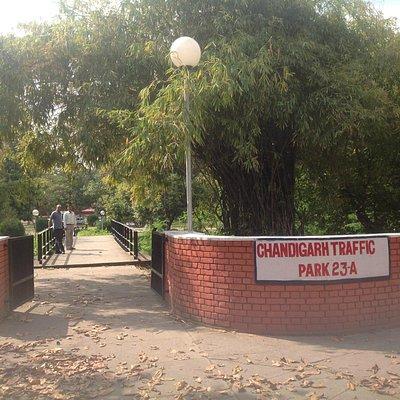 Chandigarh Traffic Park - Front Entrance