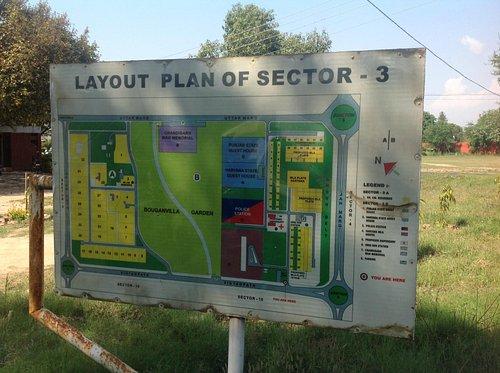 Bougainvillea Garden - Map of Sector 3